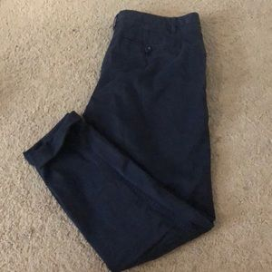 Navy business casual pants